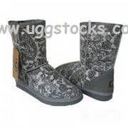 Ugg Classic Short Boots Patent Paisle, sale at breakdown price