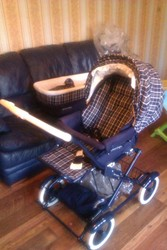 mamas papas pram and carry cot