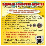 CHEAPEST PC / LAPTOP REPAIRS (COMPTIA A+ CERTIFIED)